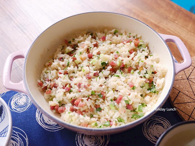 鑄鐵鍋料理:上海菜飯!滿足上餐館的菜飯香