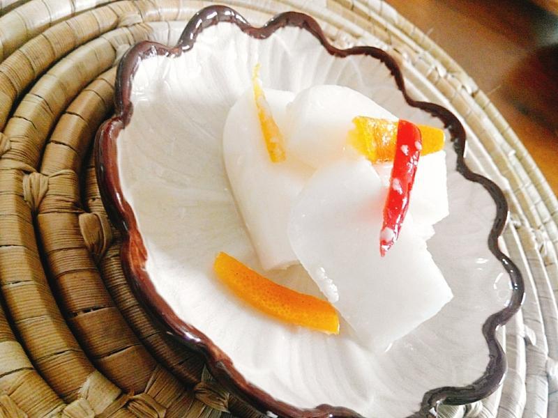 鹽麴金棗漬蘿蔔一超簡單,美味醬菜