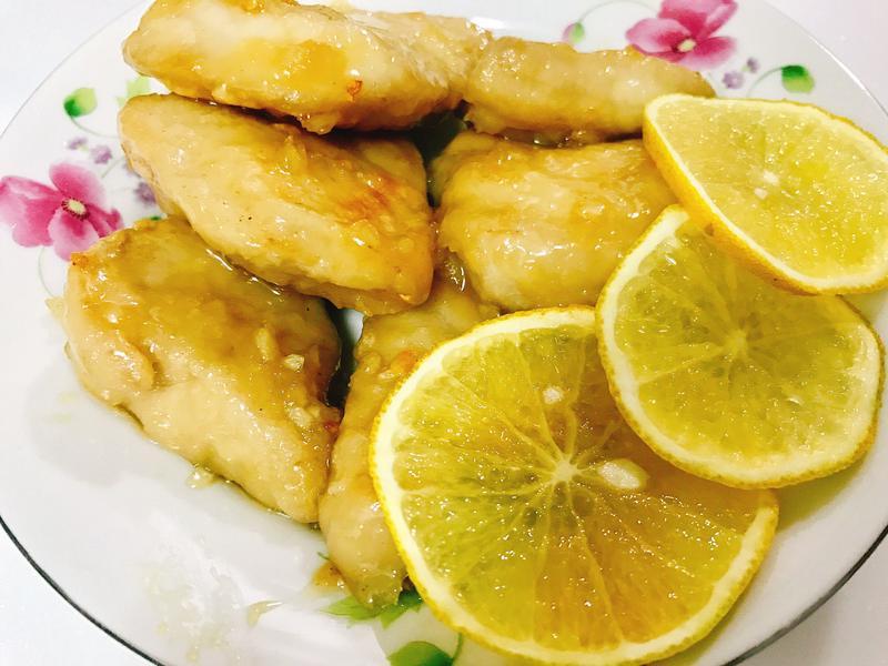 橙汁魚排~給不愛吃跟聞魚欸人