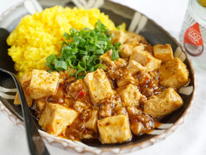 馨香微辣~椰子油麻婆豆腐燴飯