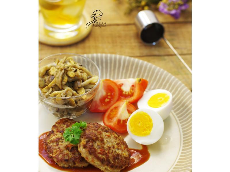 饗瘦美味-日式漢堡排