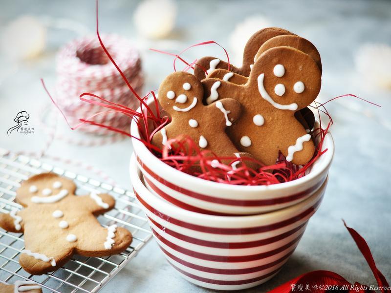 饗瘦美味- 耶誕薑餅人餅乾