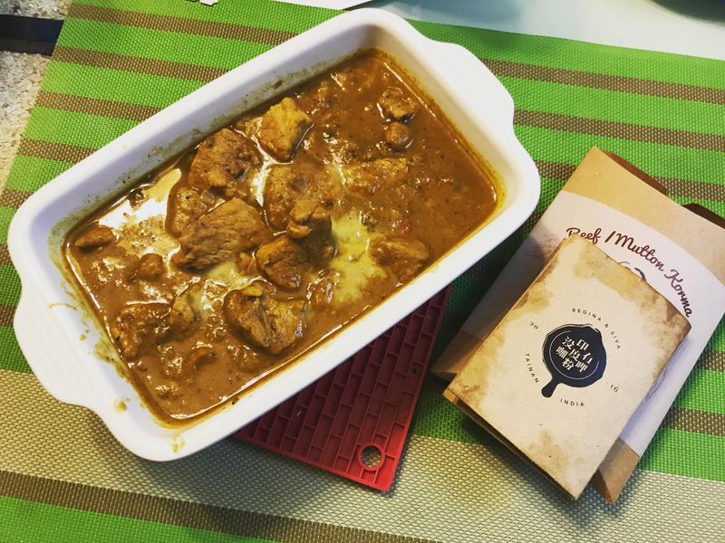 《印度沒有咖哩粉》-紅肉咖哩