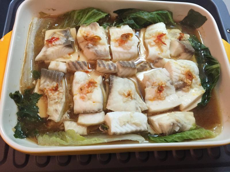 清蒸蒜蓉鯛魚片