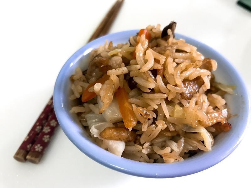 古早味經典~高麗菜飯~