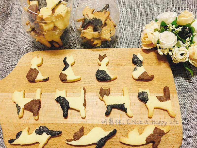 三花貓咪造型餅乾