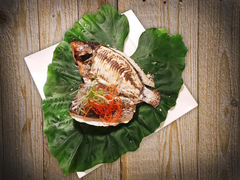台灣鯛鹽烤