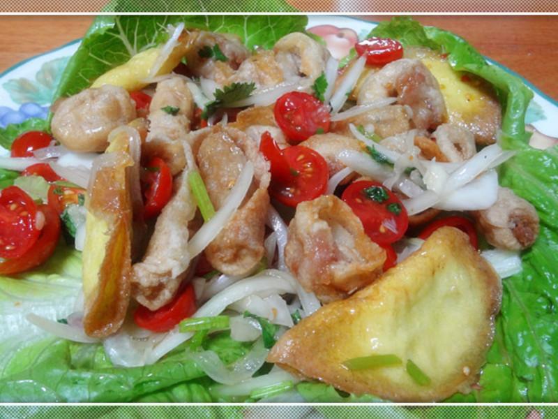 泰式涼拌綜合桂冠火鍋餃