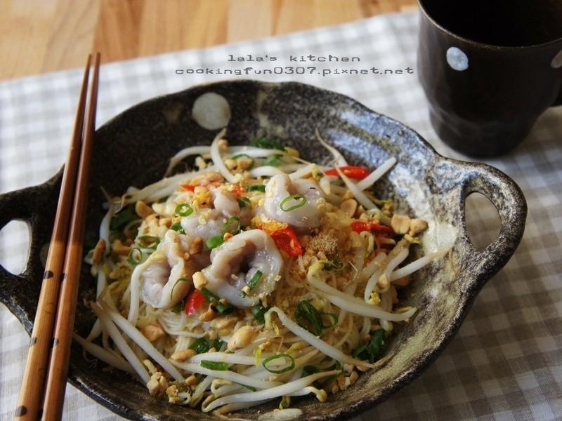 泰式魚餃拌麵