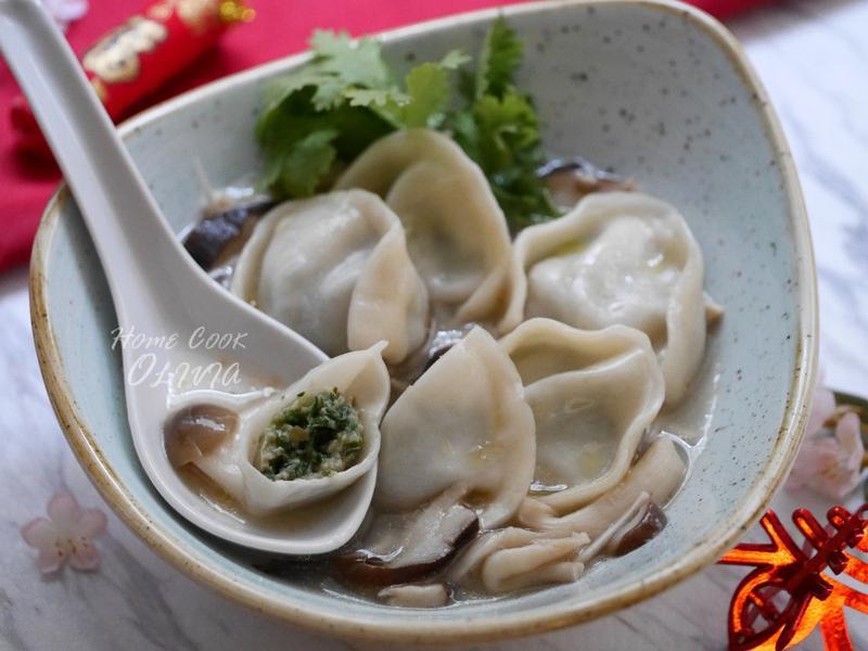小廚娘❤百菇燴蒸餃
