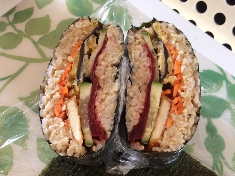 素飯糰三明治