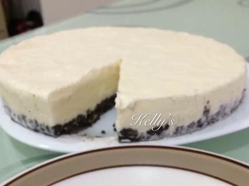免烤Oreo乳酪蛋糕