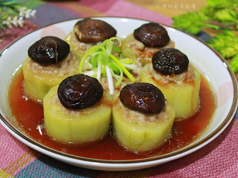 【電鍋料理】黃瓜鑲肉