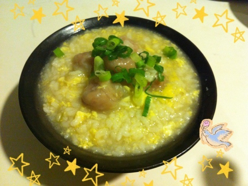 幸福の桂冠魚餃雜炊~☆