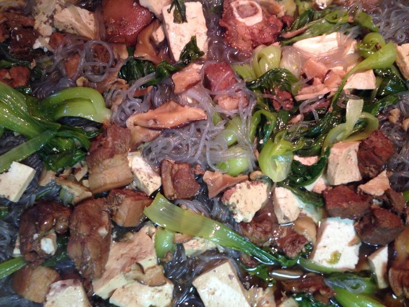 葷菜-豆腐粉條燉豬肉