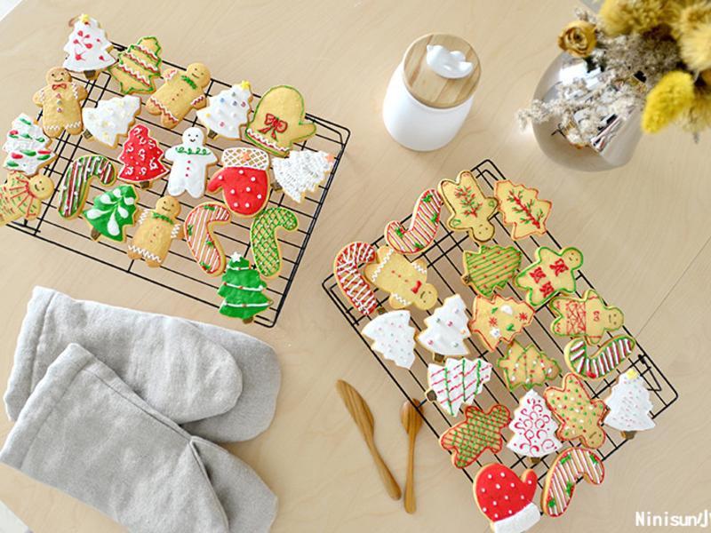 聖誕節慶糖霜餅乾 (保證成功版)