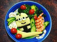 小小兵造型輕食餐(減重食譜)