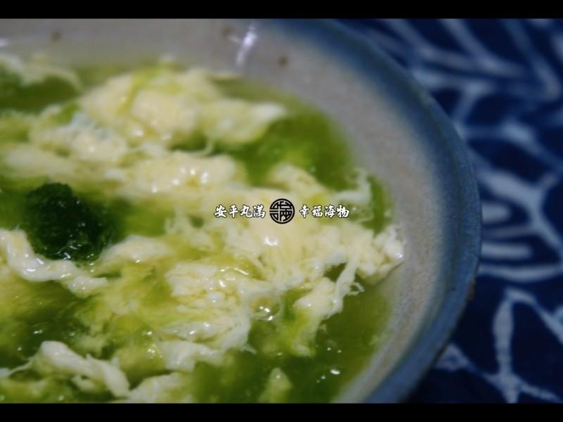 【幸福海物】澎湖海菜蛋花湯