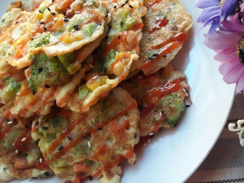 veggie bites ~ 蔬菜蛋煎