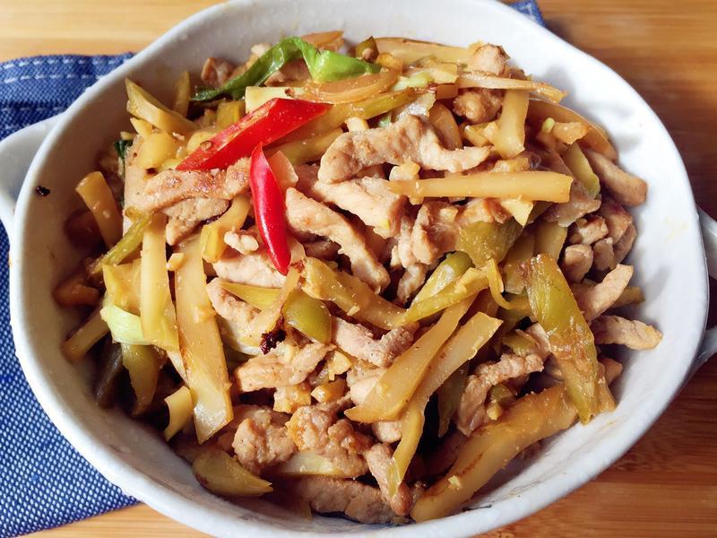 冰箱常備菜-榨菜肉絲