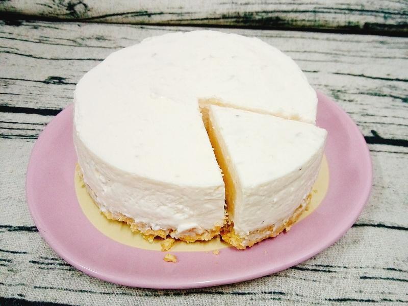 草莓生乳酪蛋糕(免烤)