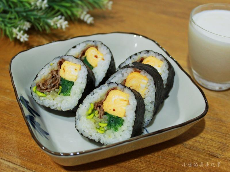 紫菜牛肉飯捲【福壽純芝麻油玩料理】
