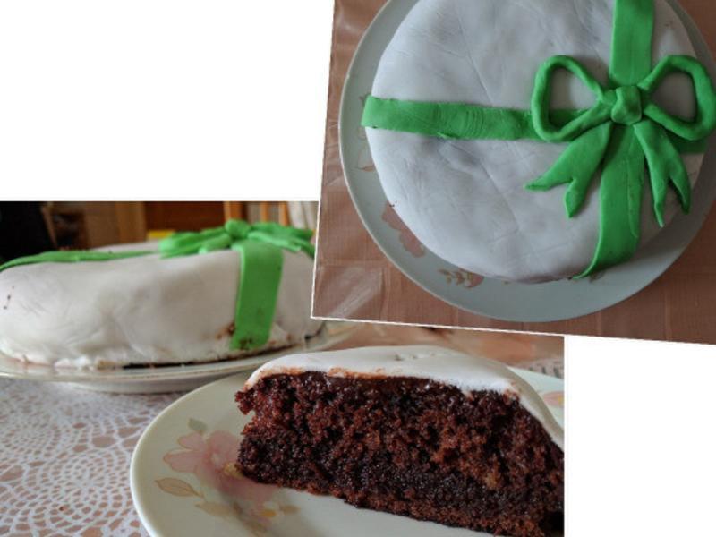 巧克力泥蛋糕( mud cake)