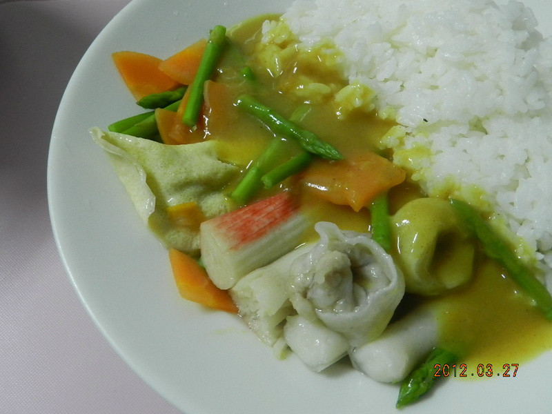 ㄚ曼達的廚房~幸福魚餃咖哩