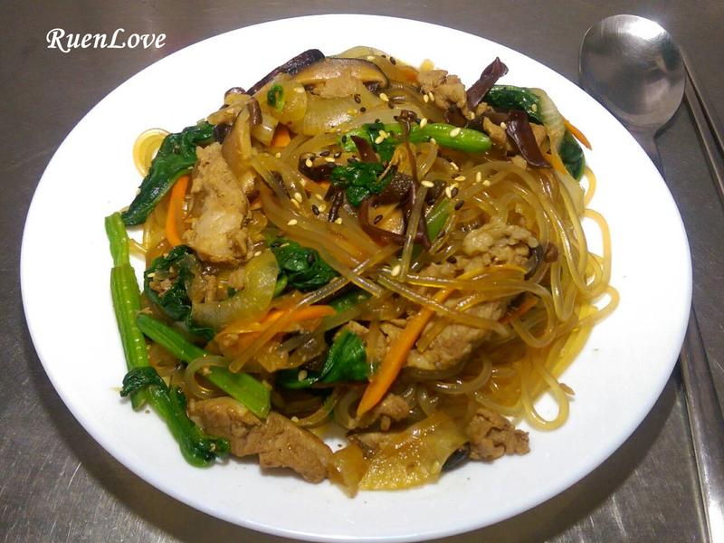韓式雜菜(涼拌冬粉)