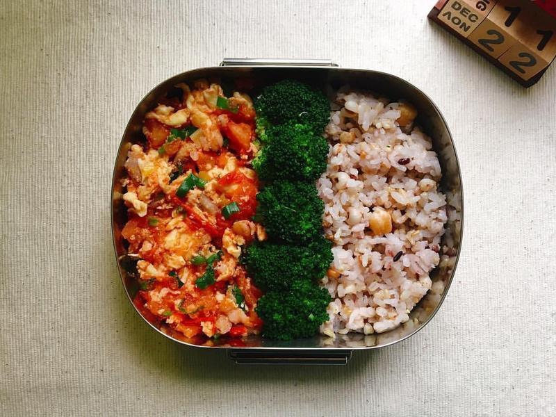 [每日便當]蟹肉/蝦仁蕃茄炒蛋