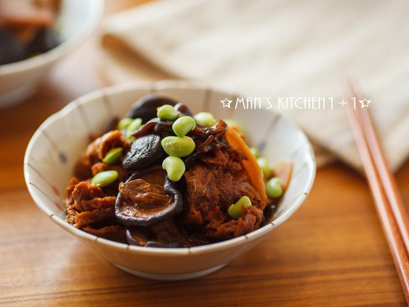 木耳烤麩 (上海烤麩)