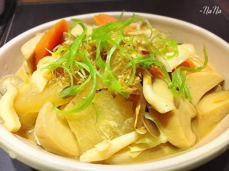 味噌蘿蔔蔬菜滷