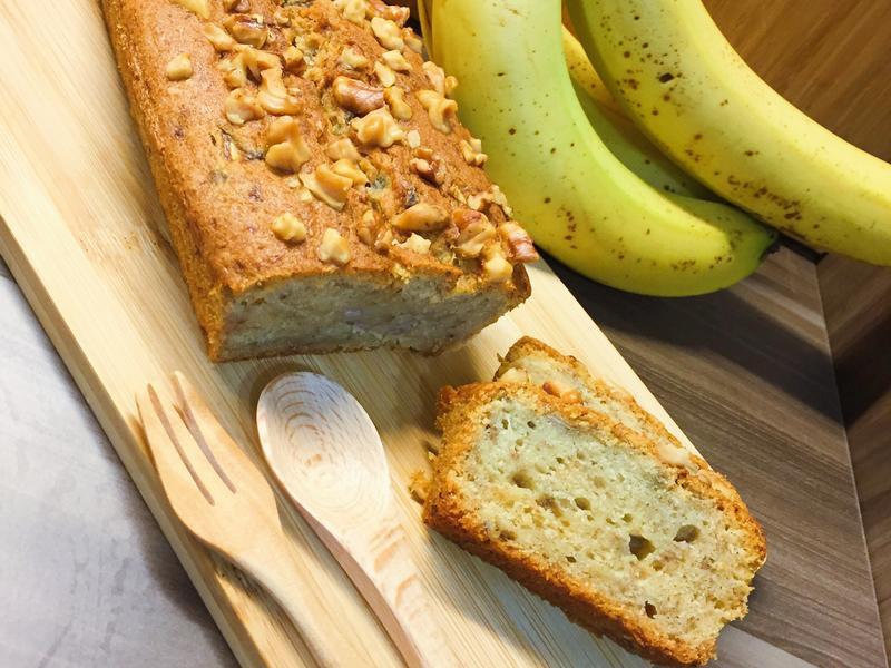 香蕉核桃蛋糕(免打發)