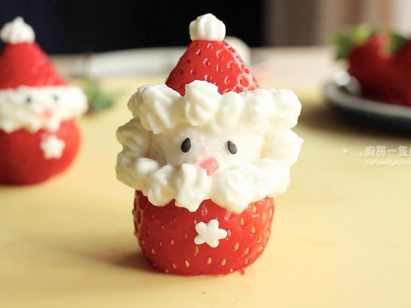 草莓聖誕老人(附影音食譜)