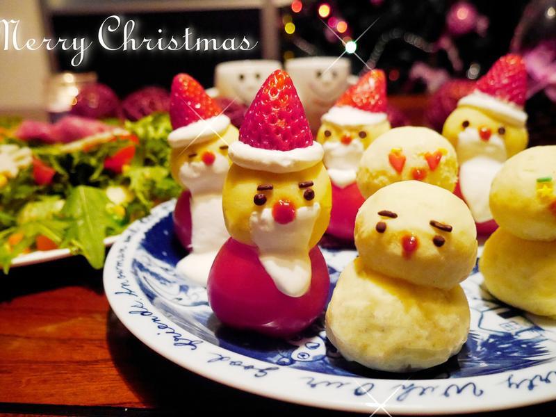 【聖誕食譜】歡樂派對-聖誕小公公/胖雪人