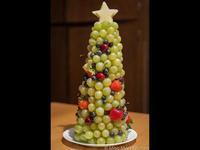 水果聖誕樹