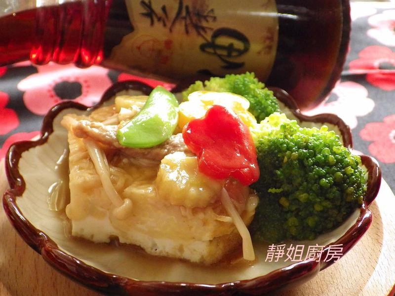 麻油蛋香麵線蔬食燒【福壽純芝麻油玩料理】