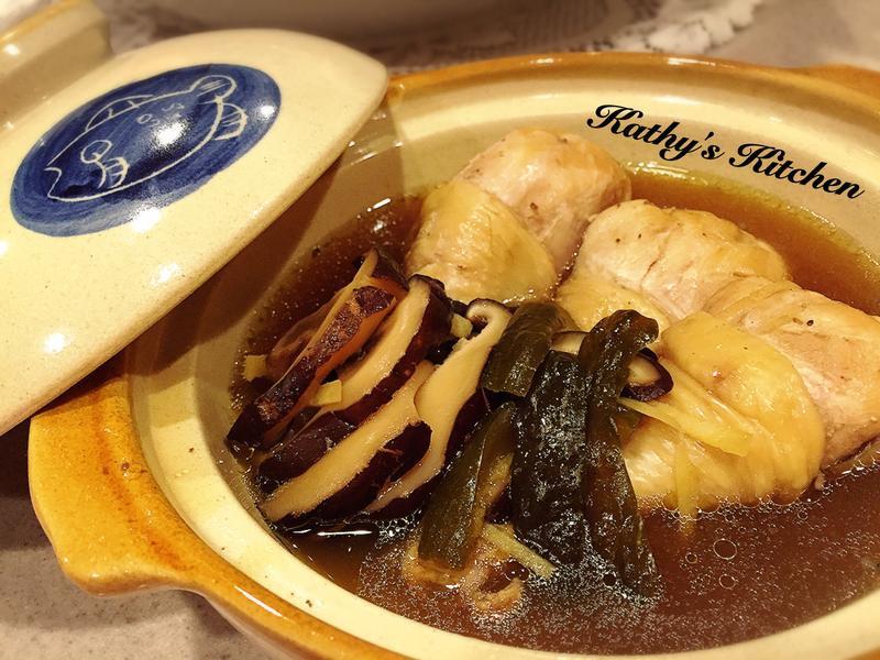 香菇瓜仔雞湯🎶