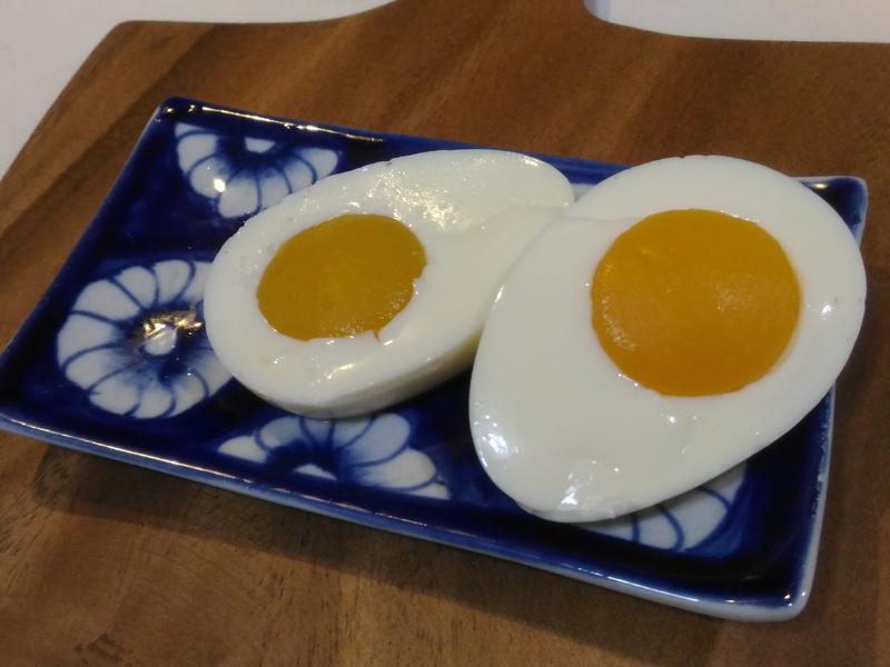 水煮蛋造型水蜜桃鮮奶酪