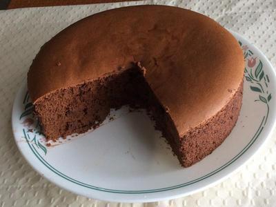 日式可可棉花蛋糕