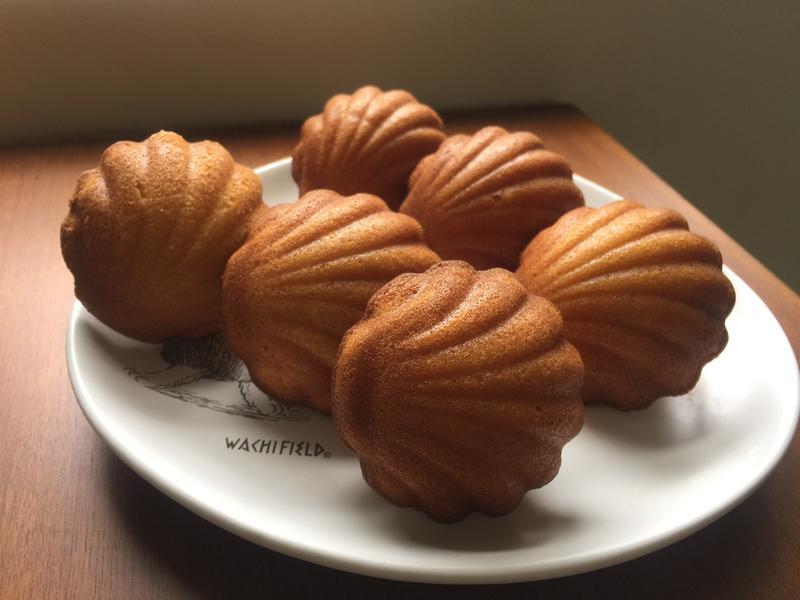 橙香奶油瑪德蓮貝殼蛋糕