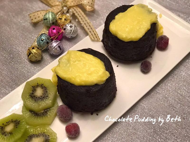 巧克力(聖誕)果香布丁
