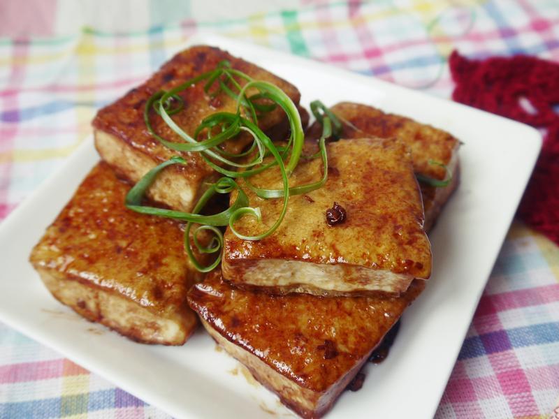 薑汁燒豆腐