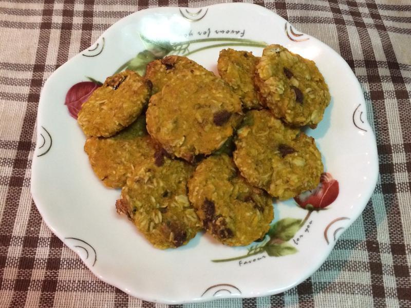 素食㊣南瓜燕麥餅