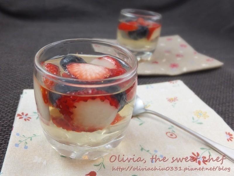 莓果甜酒凍