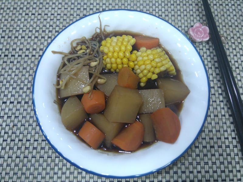 十全菜頭湯