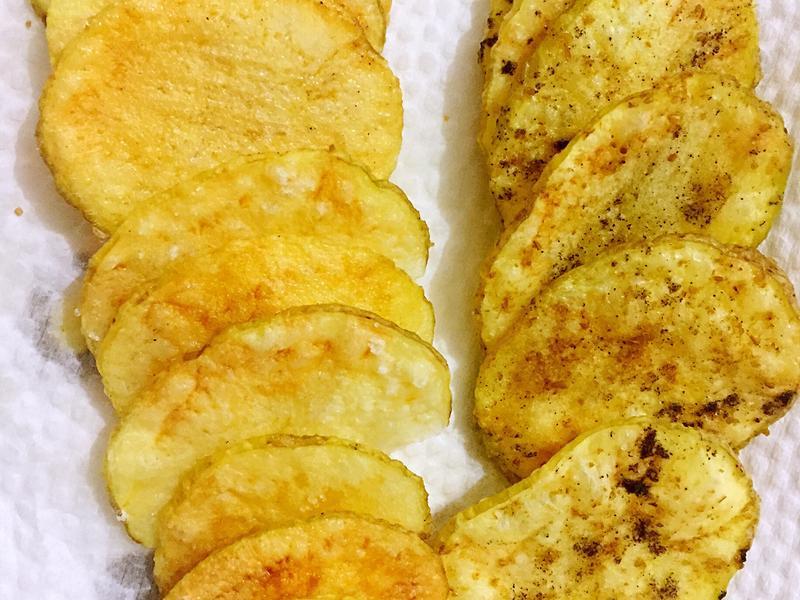 五分鐘自製洋芋片(不用烤箱)
