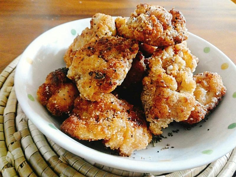 迷你香雞排一超簡單,少油也可炸酥脆