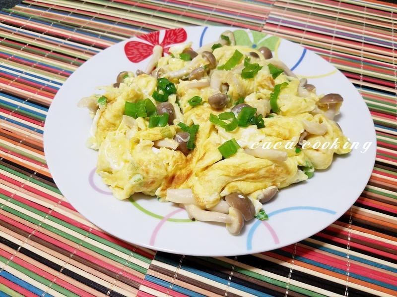 鴻喜菇炒蛋