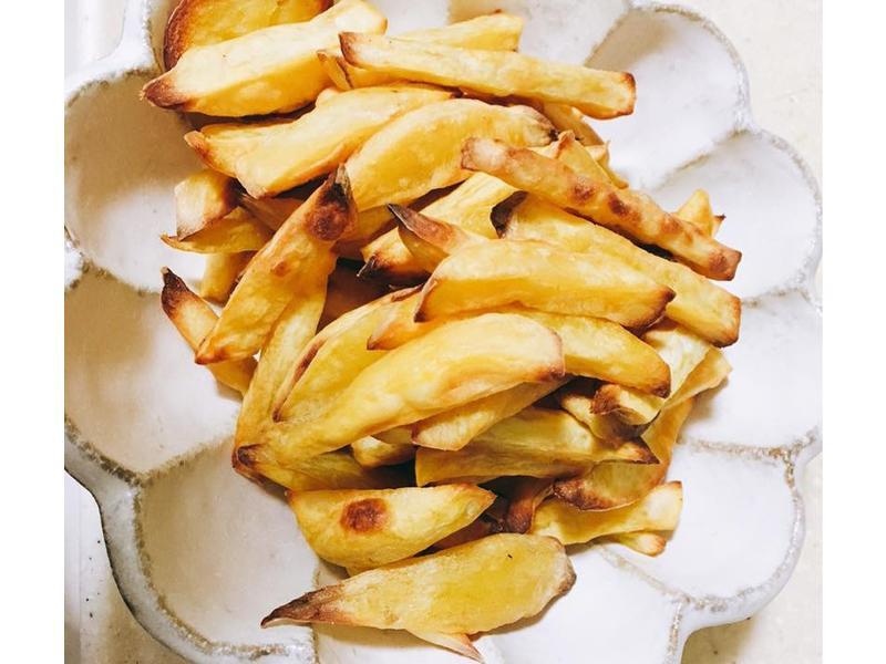 零廚藝烤箱料理-香酥地瓜薯條
